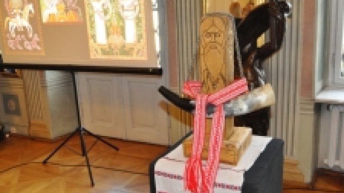 Rzeźba słowiańska przedstawiająca starca