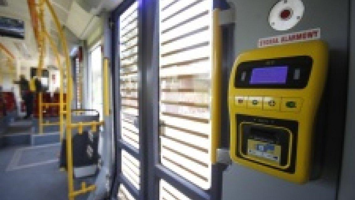 Wnętrze tramwaju