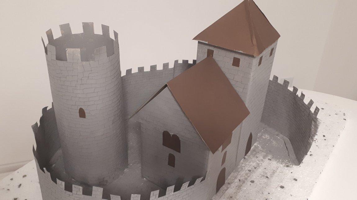 Makieta zamku będzińskiego