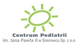 Logo Centrum Pediatrii im. Jana Pawła II w Sosnowcu